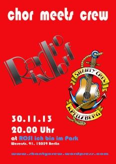 Chor meets crew RR sw-Verlauf