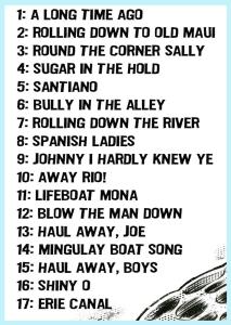 Songliste